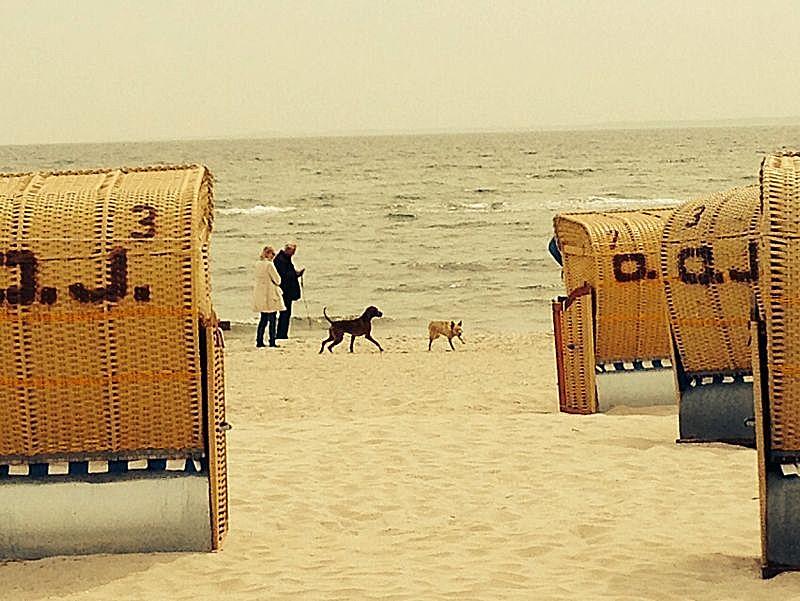 Bei der Klassenfahrt Ostsee nur im Strandkorb?